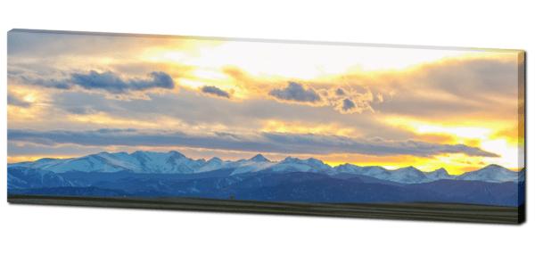 Colorado panorama art