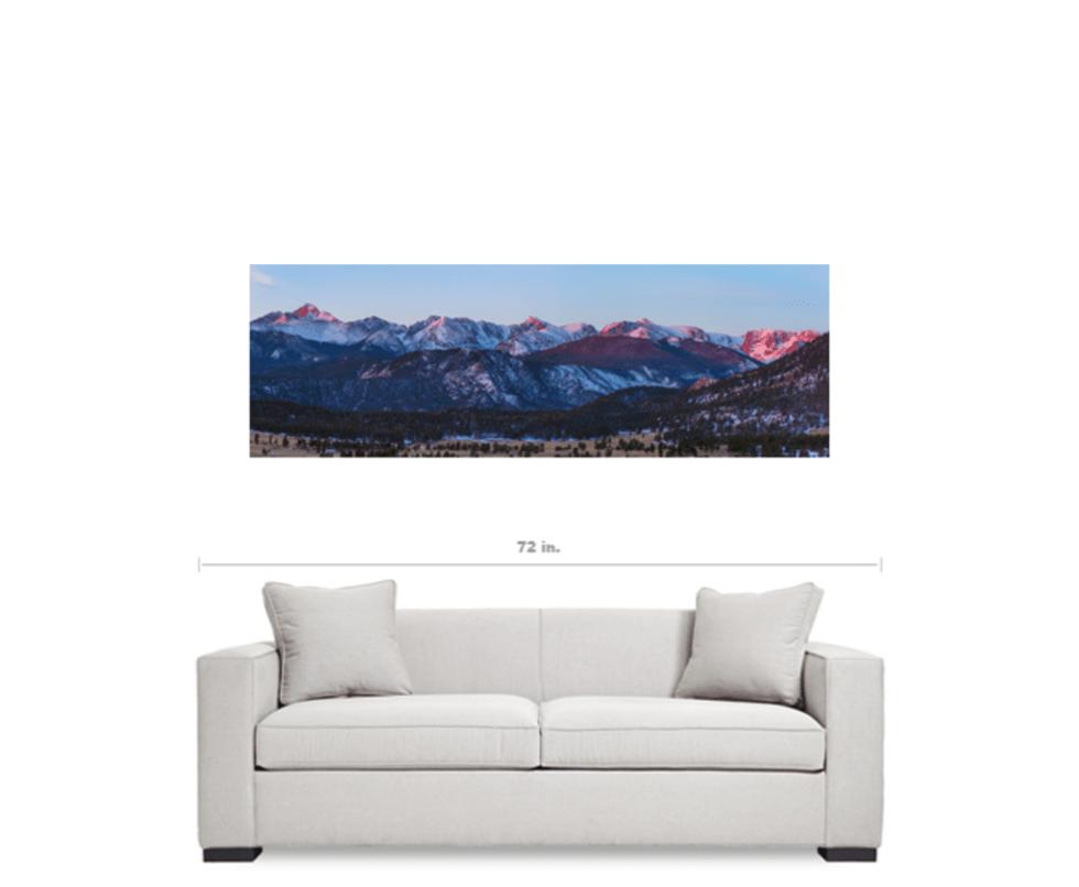 Rocky mountain panoramas
