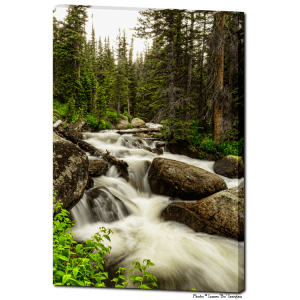 Nature's Waterworks 24″x36″x1.25″ Premium Canvas Gallery Art Wrap