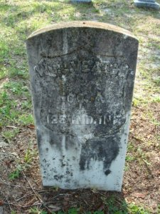 William L. Veatch Gravestone, Oakside Cemetery, Zephyrhills, Florida
