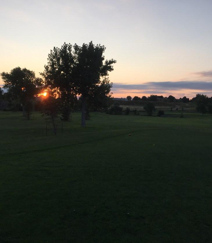 World Golf Sand Creek twilight