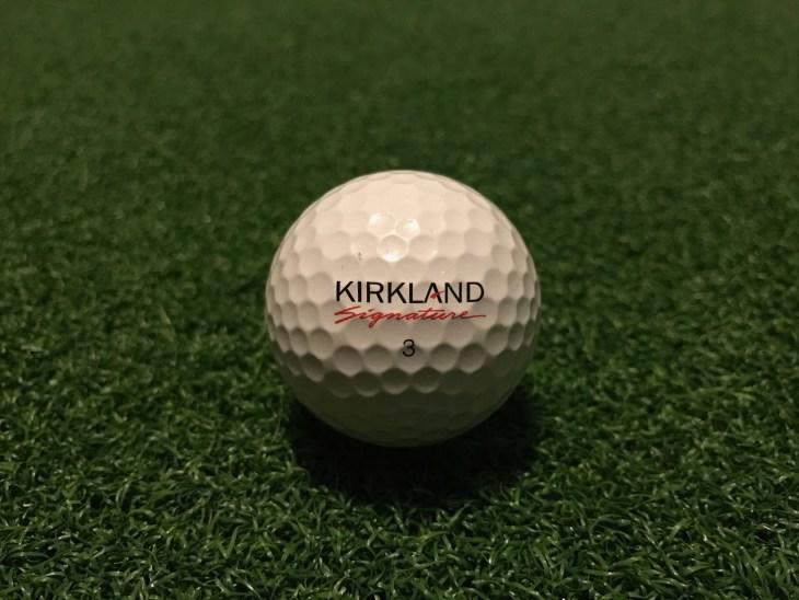 Kirkland golf ball