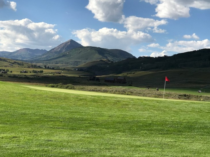 Crested Butte green