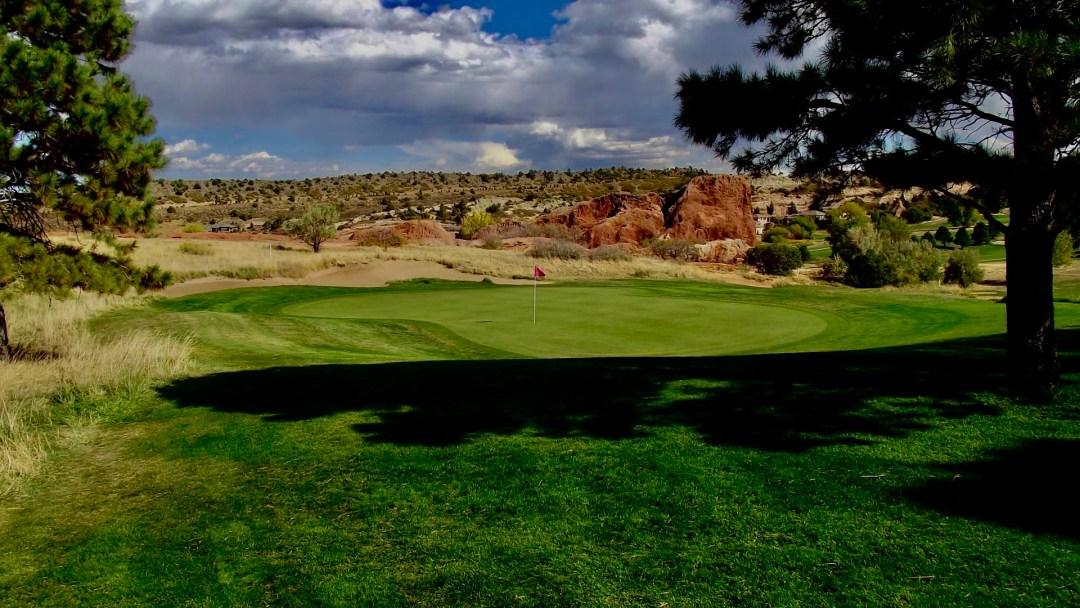 Hole #2 - Arrowhead Golf Club