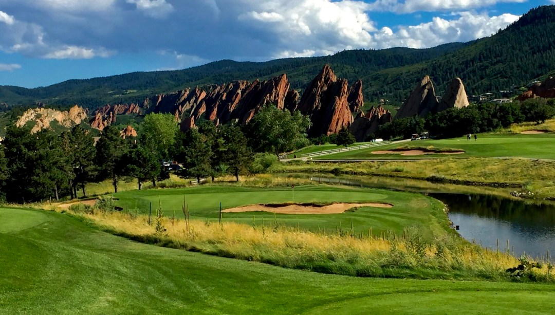 Hole #9 - Arrowhead Golf Club