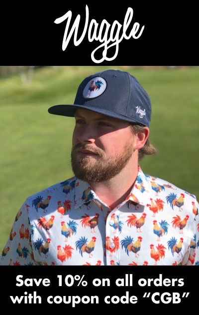 Waggle golf rectangle ad
