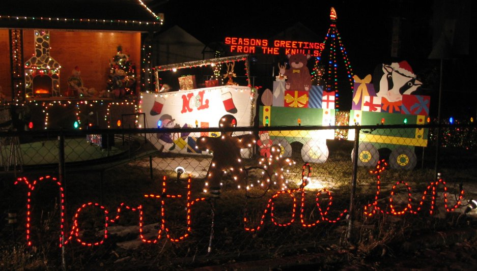 Christmas Lights Drive Thru