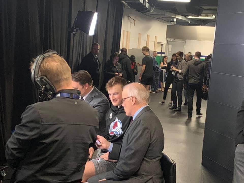 "Inside the Avalanche Locker Room: ""It felt kinda cheezy"" | Colorado Hockey Now"