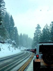 Tahoe traffic