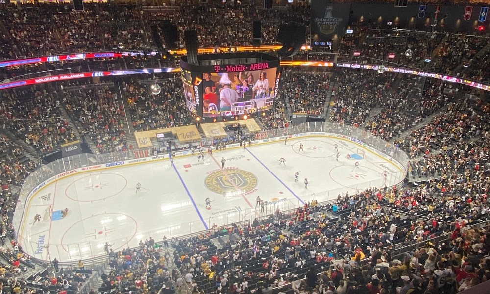 Colorado Avalanche, Vegas Golden Knights, T-Mobile Arena