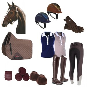 Brown Tack Collection