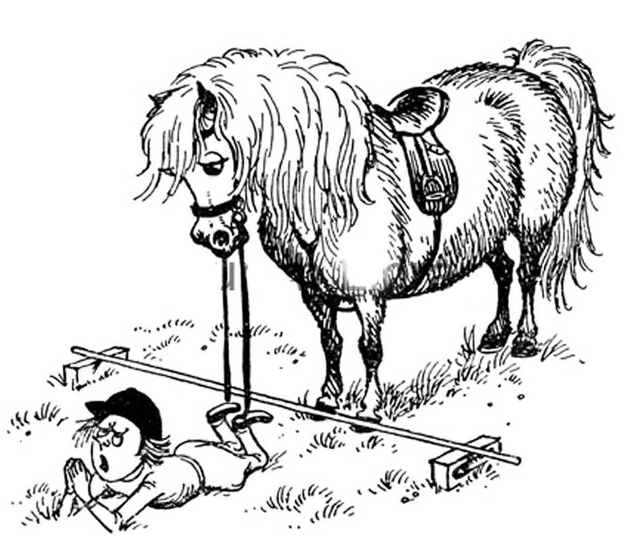 Falling Off a Horse
