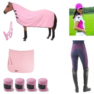 Pink Equine Collection