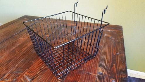 """12"""" x 12"""" x 8"""" Gridwall Basket"""