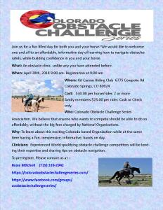 Colorado Obstacle Challenge SEries @ Obstacle Funday Clinic |  |  |