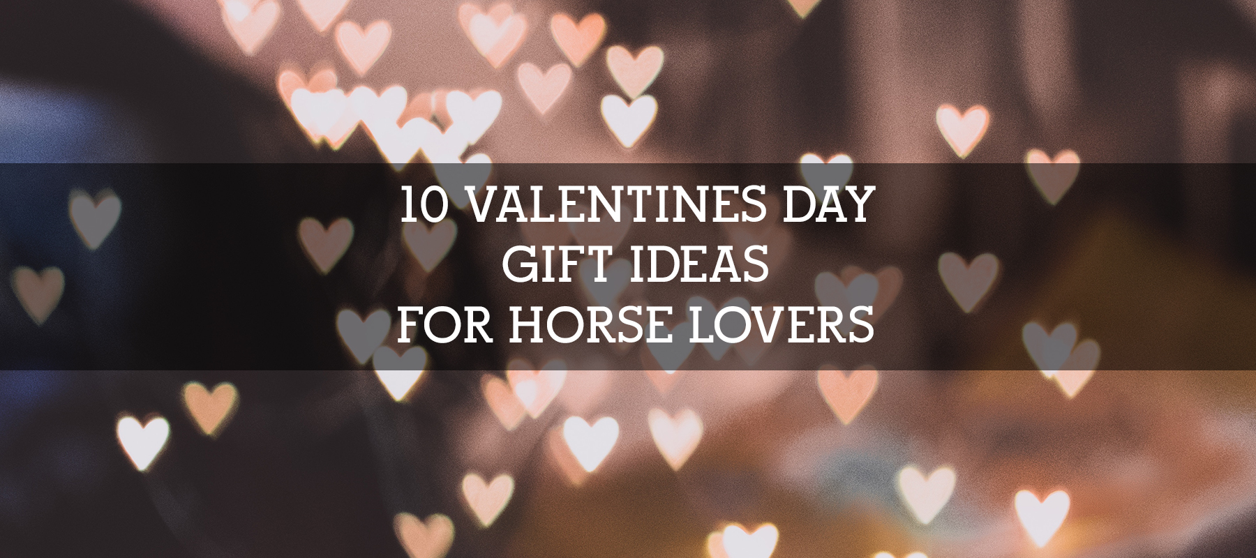10 VALENTINES DAY GIFT IDEAS FOR HORSE LOVERS