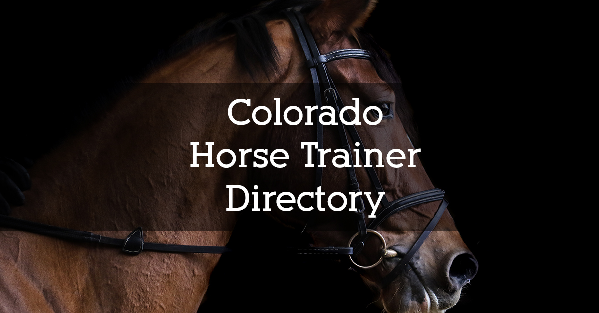 Colorado Horse Trainer Directory