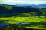 The Yampa Valley stretches from Rabbit Ears Pass to the Flattops Wilderness Area