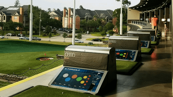 top golf date night idea
