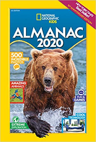 National Geographic Kids Books for 2019 || New Almanac || Review