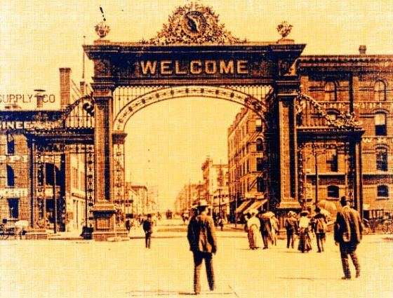 Welcome Arch, Denver Union Station 1908