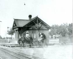 Colorado Central Railroad Depot 1903