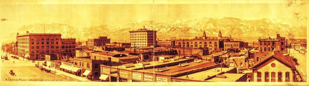 Colorado Springs Panorama, 1913