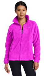 Columbia Women's Benton Springs Full-Zip Fleece Jacket at Amazon Women's Coats Shop