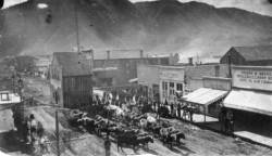 Looking down on Durango, 1881
