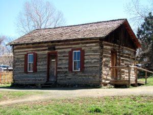 Clear Creek History Park Log Cabin