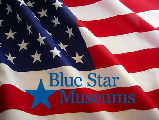 American Flag Blue Star Museums