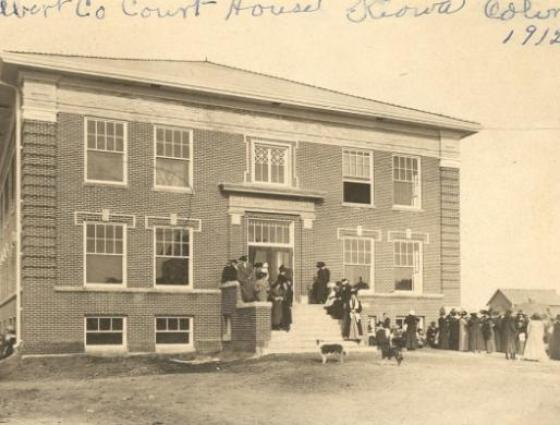 Kiowa - Elbert County Courthouse 1912