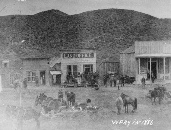 Wray - Land Office 1886