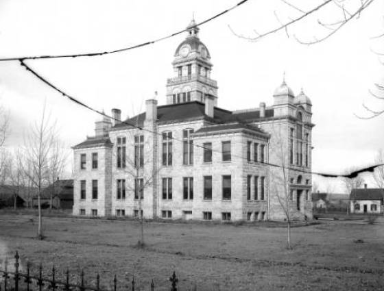 Castle Rock - Douglas County Courthouse made of granite mined from quarries in the area completed 1901