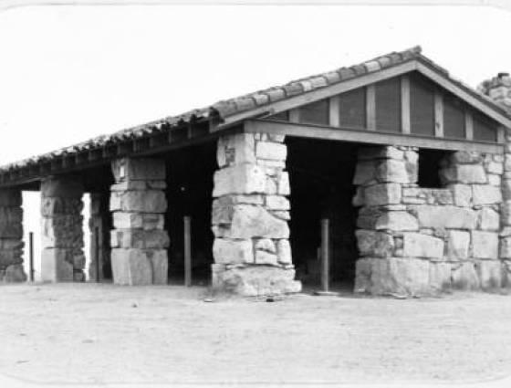 Sedalia - Shelter at Daniels Park, 1930-1950