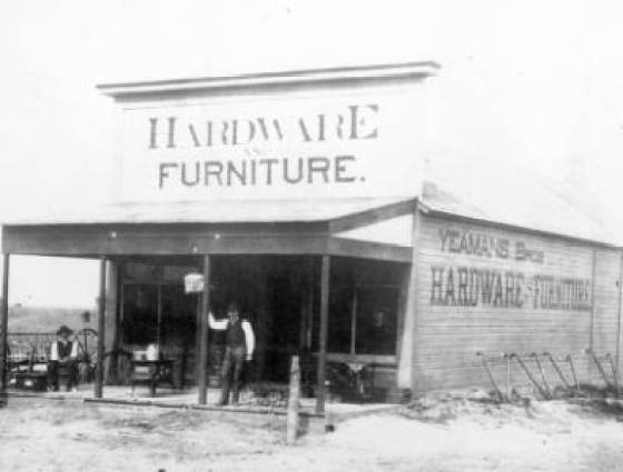 eamans Bros. Hardware and Furniture, first hardware store in Akron, 1885