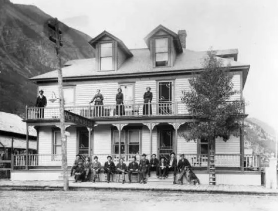X-2214 New Windsor Hotel, Silver Plume, 1902-1910.