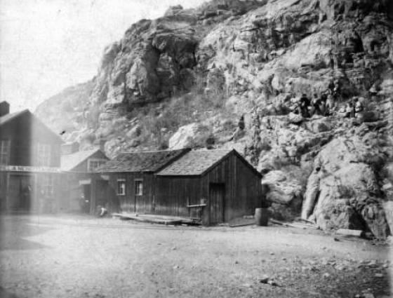 X-61692 Mendota Mine near Silver Plume, 1880s.