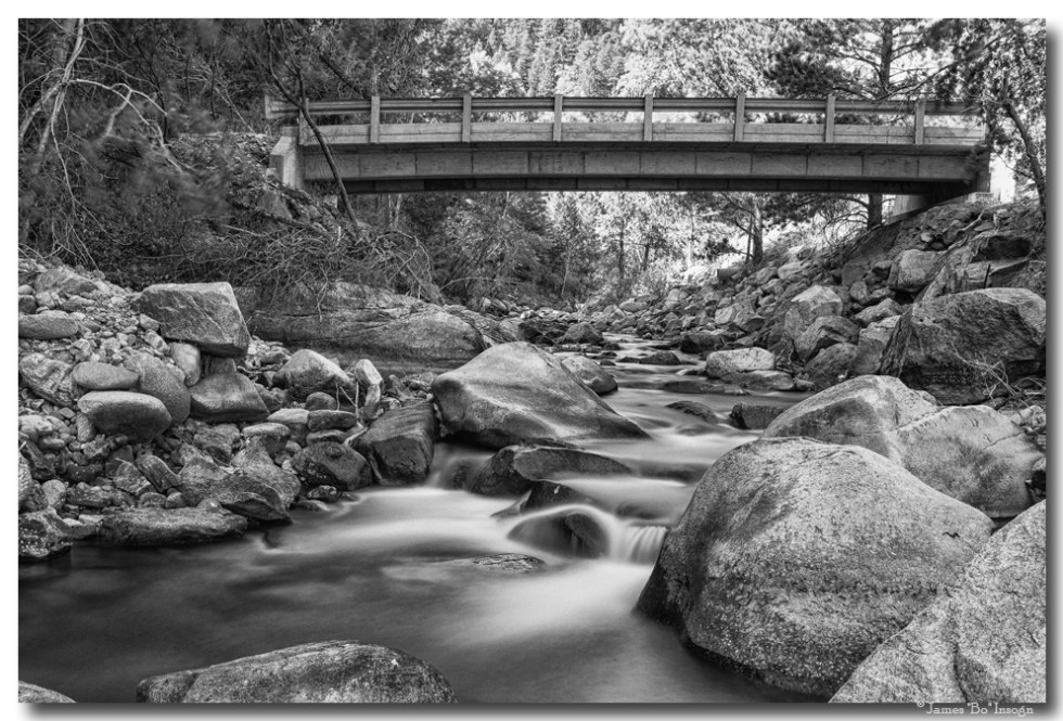 The Crossing In Black and White Art Prints