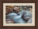St Vrain Streaming Framed Print