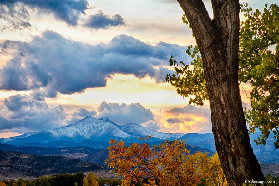 Twin Peaks Sunset Autumn View Photography Prints