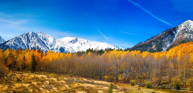 Independence Pass Autumn Panorama Part One Art Prints