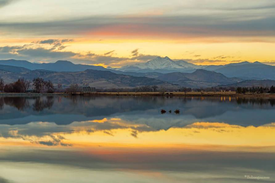 Marvelous McCall Lake Reflections