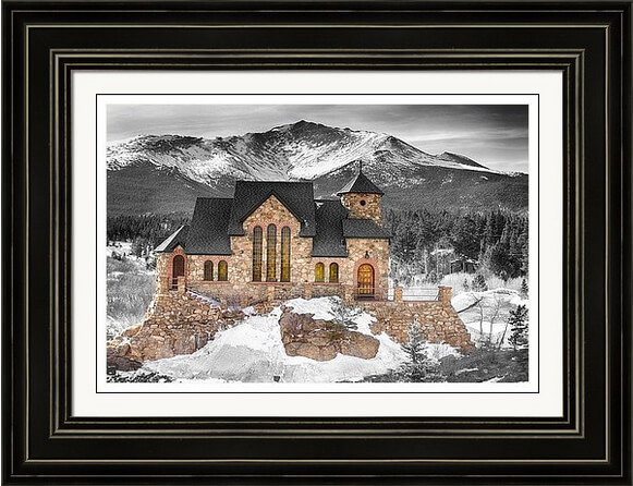 Colorado Chapel On The Rock