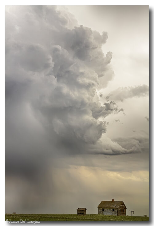 Gobbled Up By a Storm Monster Cloud Art