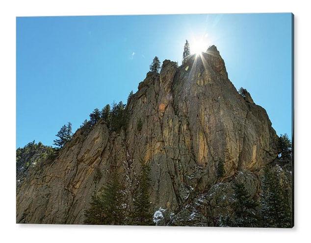 Boulder Canyon Narrows Pinnacle Views