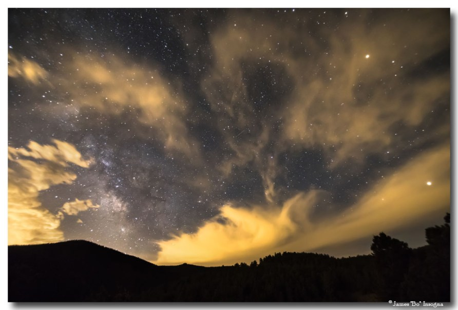Nighttime Milky Way Magic Art Prints