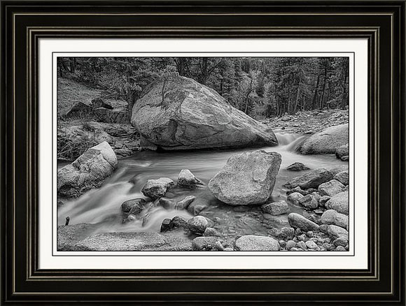 Colorado Monochrome Soothing Wilderness Canyon