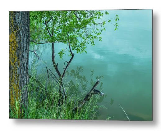 Enchantment Water Reflections Metal Art Print