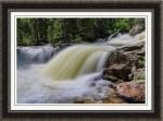 Upper Copeland Falls Framed Print